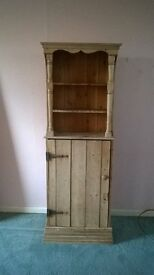 Pine cupboard with shelves