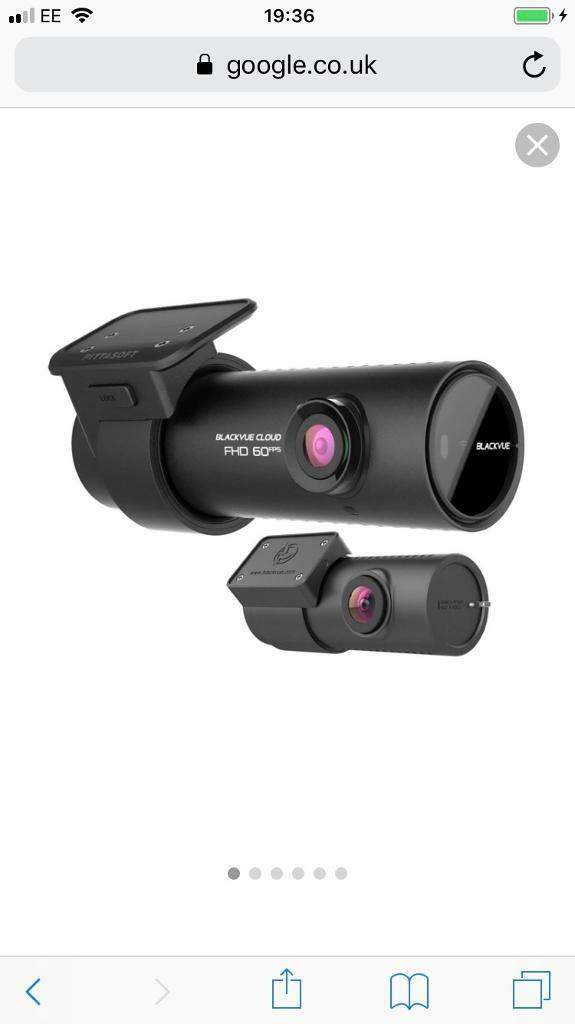 Blackvue dr650 full HD 2channel dash cam | in Poplar, London | Gumtree