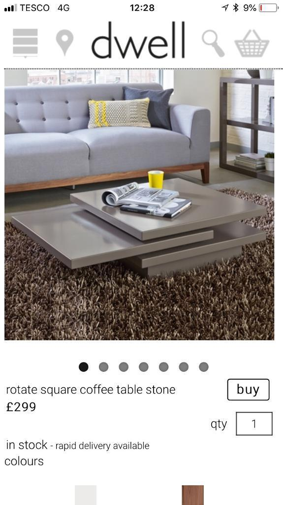 Coffee Table Dwell In East End Glasgow Gumtree