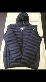 Men's Moncler and stone island puffer jackets