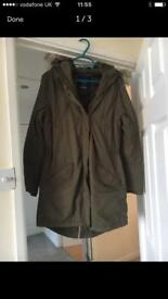 Ladies Parker Hood Coat