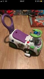 Buzz light year musical ride on