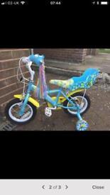 Child's 12 inch bike