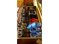 Boys soes (13 pair up to size 9)