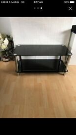 Really beautiful black glass coffee table £40