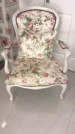 Louis Chair with matching cushion