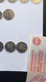 £2/£1/50p coins, rare, new, old