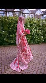 Pakistani / Indian wedding BRIDAL outfit Lengha- dress