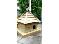 Floating duck house, Welsh dovecotes