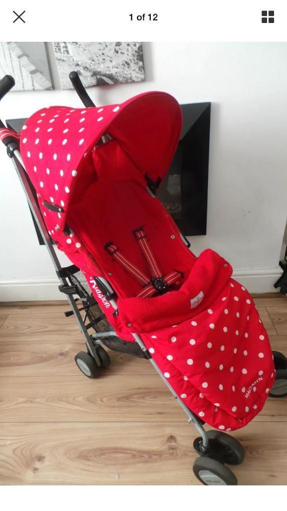 Maclaren quest stroller Cath Kidston design Limited Edition