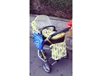 Cosatto treet 3 in 1 travel system