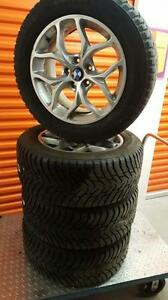(46) Pneus d'Hiver - Winter Tires 255-55-18 Nokian