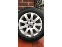 Volkswagen Golf Mk5 Alloy Wheels