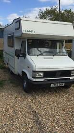 Campervan for sale fiat ducato 14 dies turbo