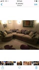 **Immaculate condition corner suite and swivel chair **