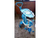 For Sale Blue Smart Trike- Like New