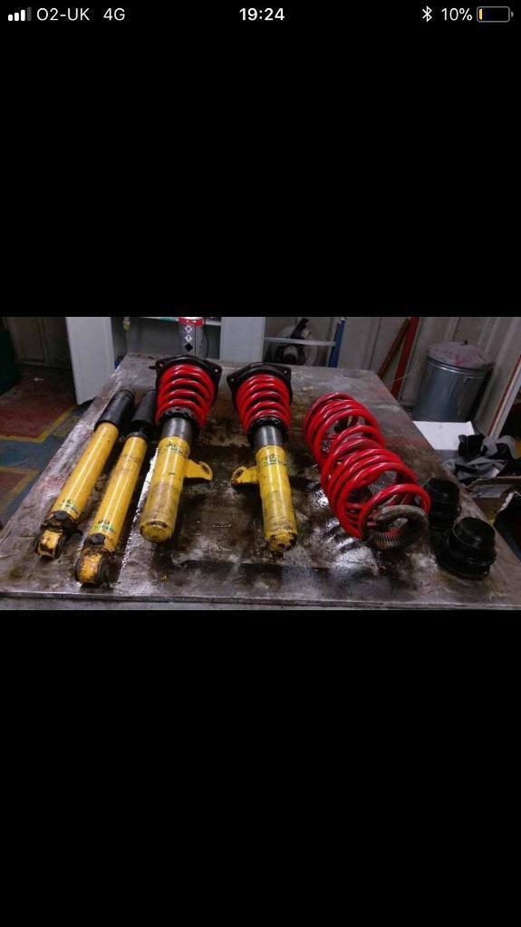 Clio 197 spax coilovers