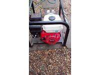 Honda generator GX180 3200