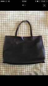 Urban Outfitters vegan faux leather tote