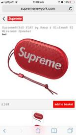 Supreme Bang And Olufsen P2 portable speaker
