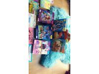 Huge bundle of children's books library nursery childminder home ed school busy books mlp dora