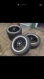 Alloy wheels 4x100 17""
