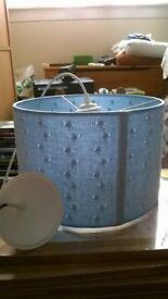 Blue Lampshade - Brand New
