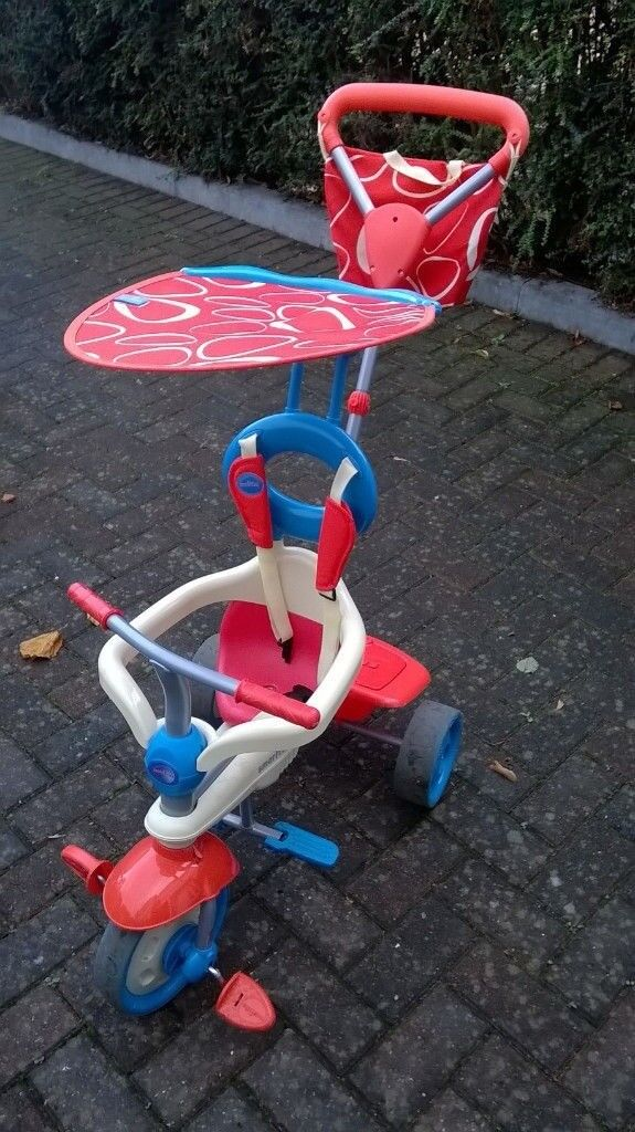 Smart Trike 4-in-1 - used, very good condition