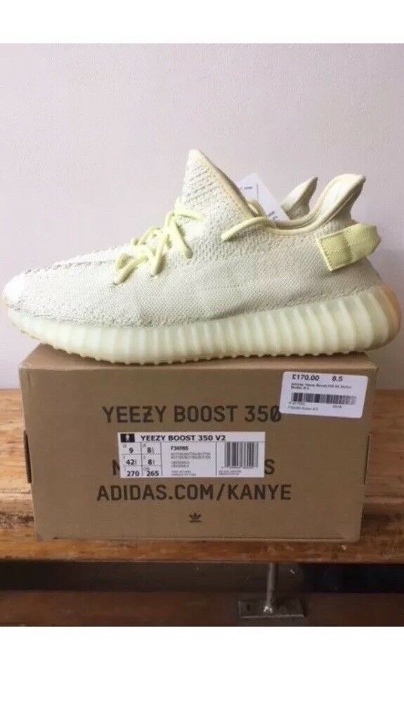 Adidas Yeezy Boost 350 V2. Butter Kanye, size 8.5, new in box