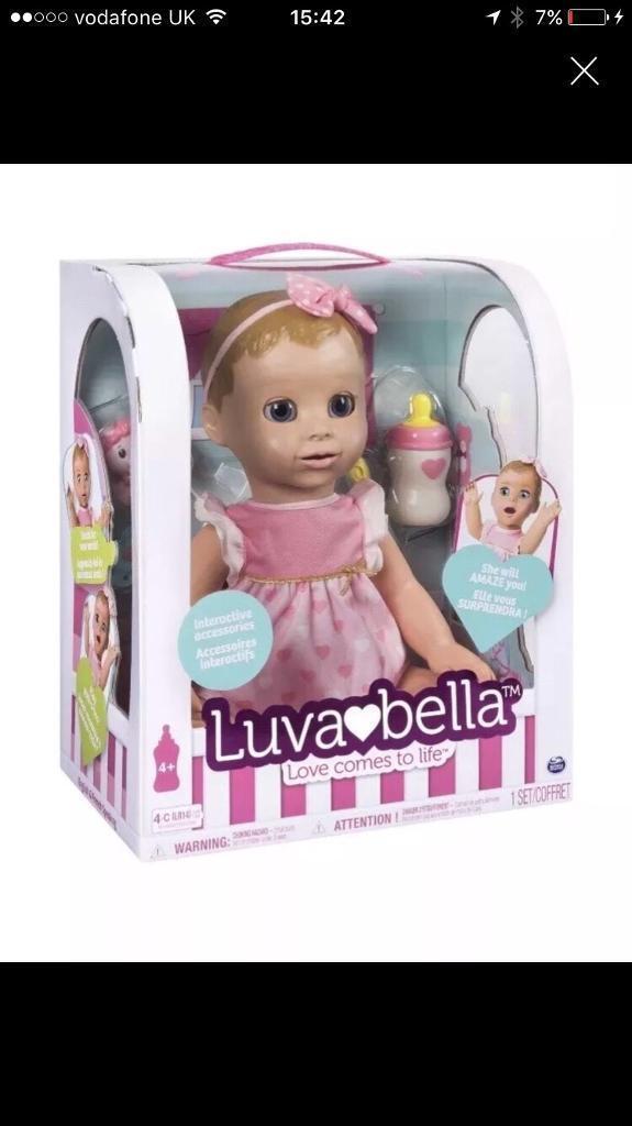 Bnib luvabella doll