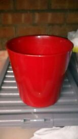 Red Plant Pot ikea