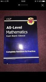 Maths AS Textbook CGP Edexcel
