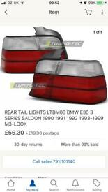 M3 E36 Saloon Rear Lights