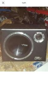 12 inch vibe cbr subwoofer - 1600 watts