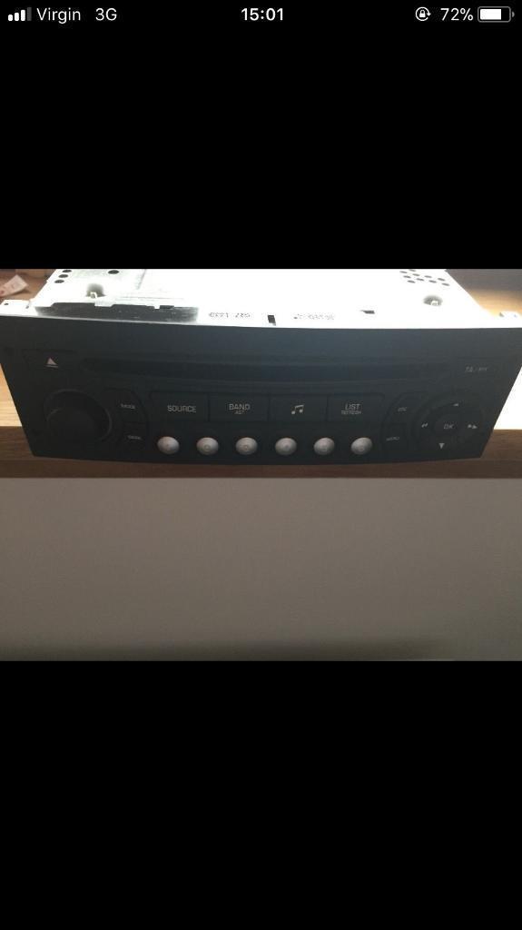 Brand new car stereo
