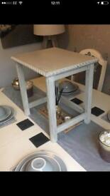 Shabby Chic side table x 2