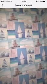 Brand new bathroom wallpaper £5 a roll