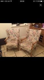 2 cottage chairs