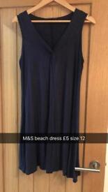 M&S beach dress size 12