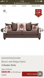 Sandringham oakland furnature sofa