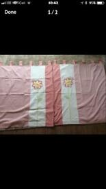NEXT tab top curtains, lined.