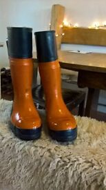 Oregon Chainsaw safety Boots size 41 unused