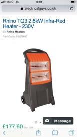 Rhino heater - 230v