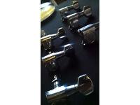 Full Set 'Fender Japan' Tuners - 1983 SQ Series