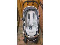 Icandy pushchair. peach 3 stroller system