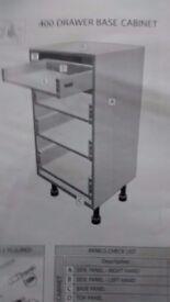 4 draw soft close kitchen cabinet new unused