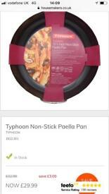 Typhoon paella/risotto pan - unused