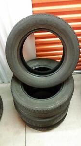 (E12) Pneus d'Ete - Summer Tires 195-65-15 Kumho