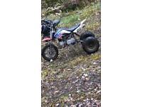 110 CC Stomp pitbike trike