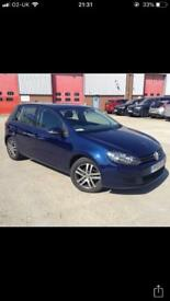 JUNE 2010 VW GOLF 1.6 TDI SE ALLOYS AIRCON CRUISE LONG MOT FINANCE AVAILABLE MAY PART EX